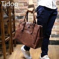 Tidog Korean male bag Messenger Bag Tote travel bag