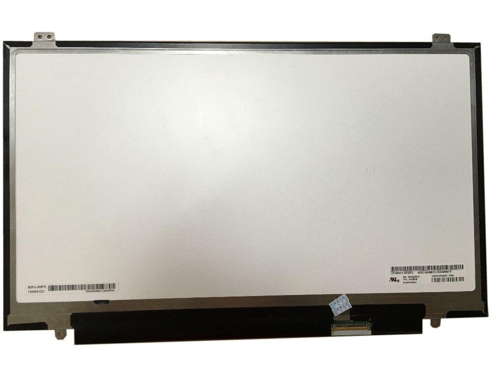 LP140QH1 SPB1 LP140QH1 (SP) (B1) 14''Laptop LCD écran LED pour Lenovo X1 Carbon 2560*1440 Non tactile