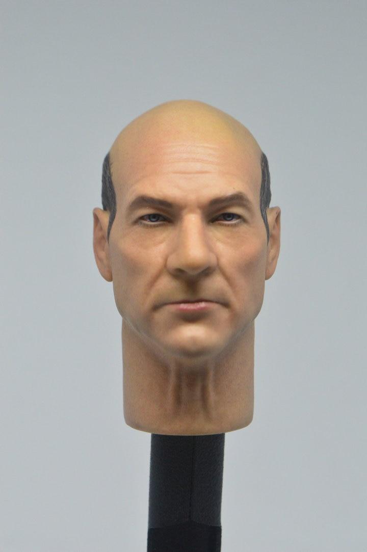 1//6 CUSTOM Charles Francis Xavier figure head Hot toys X-Men Doctor Professor X