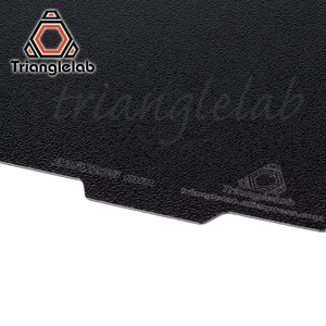 Image 3 - Trianglelab 235 X 235 ender 3 Double Sided Textured PEI Spring Steel Sheet Powder Coated PEI Build Plate For Ender 3