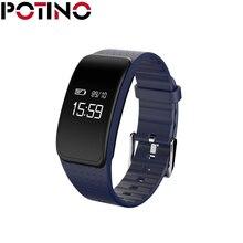 Potino A59 Смарт Браслет Водонепроницаемый IP67 сердечного ритма трекер сна крови кислородом шагомер smartband для iOS и Android