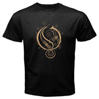 New OPETH Heavy Metal Rock Band Men S Black T Shirt Size S M L XL