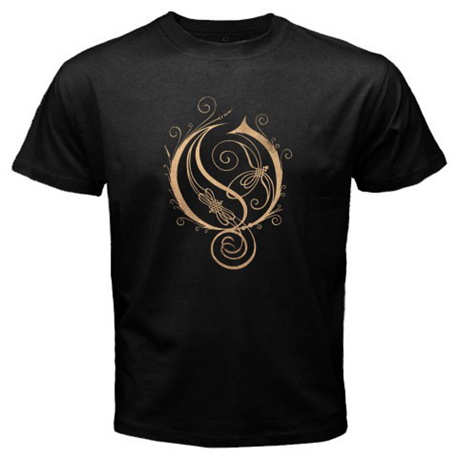 New OPETH Heavy Metal Rock Band Mens Black T-Shirt Size S M L XL 2XL Man/Boy T Shirt Adults Casual Tee Shirt Top Tees The New ...