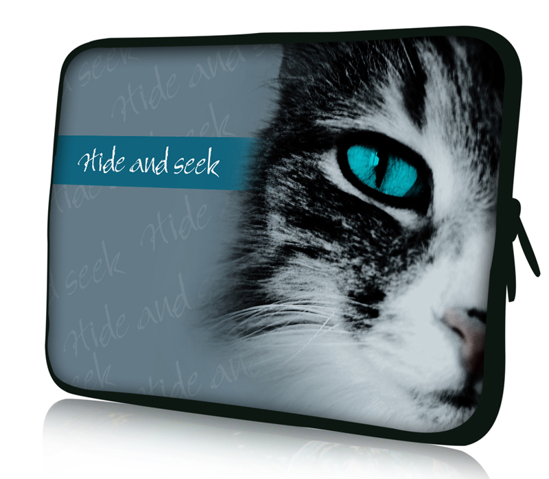Cat Face 12 Soft Neoprene Laptop Sleeve Case Bag For Samsung Google 11.6 Chromebook