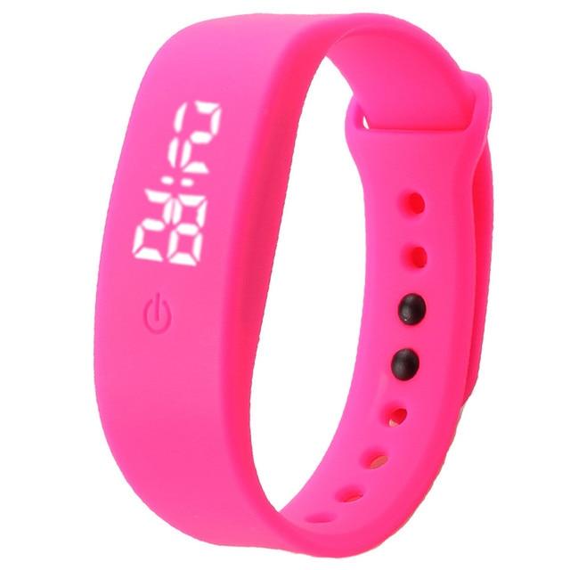 Lovesky 2018 New Fashion Watch Men Women Rubber LED Watch Date Sports Bracelet Digital Wrist Watch Gift Freeshipping & Wholesale