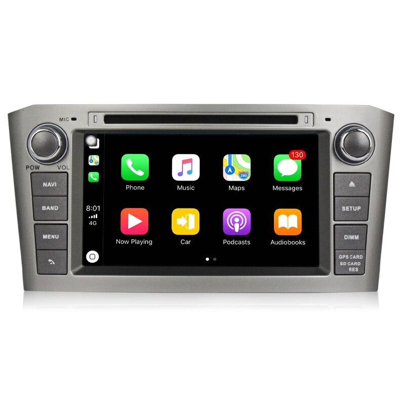 2 din android 8.0 7 pouce PX5 Lecteur DVD de Voiture avec GPS système de Navigation Pour Toyota/Avensis T25 2003 -2008 Huit Cœurs Radio FM GPS