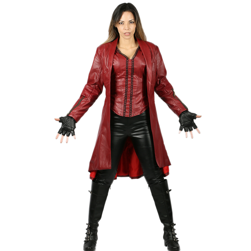 все цены на Coslive Captain America: Civil War Scarlet Witch Costume Scarlet Witch Cosplay Costume For Female Adult
