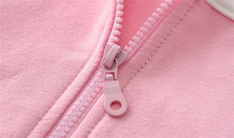 BibiCola spring autumn girls children coat fashion hoodies child jacket girls tops cartoon printing coat kids outerwear clothes