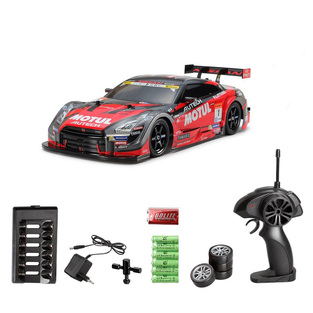 RC Car For GTR 4WD Drift Racing Car Championship 2.4G Off Road Rockstar Radio Remote Control Vehicle Electronic Hobby Toys(China)