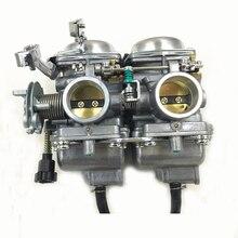 Дуплекс спаренные цилиндры Rebel мотоцикла карбюратор комплект в сборе для MIKUNI камеры набор карбюратора CMX 250 CBT250 CA250 DD250 300cc