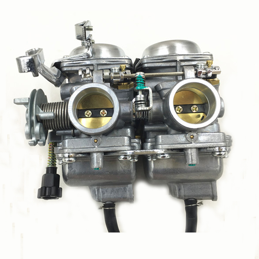 Free shipping MIKUNI Duplex Twin Cylinders Rebel Motorcycle Carburetor Assy Set Chamber Set CMX 250 CBT250 CA250 DD250 300cc evolis avansia duplex expert smart