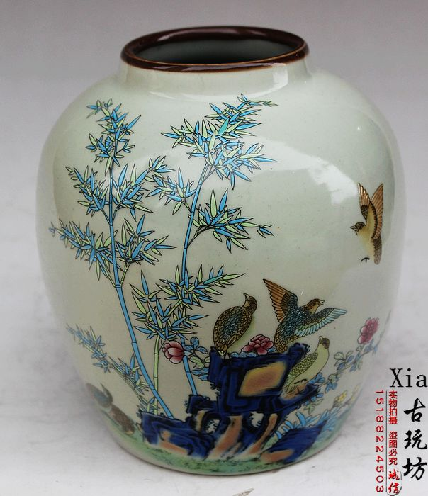 Jingdezhen Old Porcelain In The Qing Emperor Qianlong Of The Year - Fenghua map