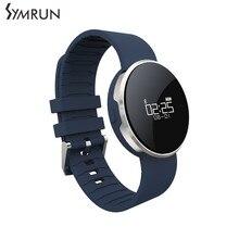 Symrun UW1 Bluetooth 4.0 Смарт Спорт браслет зеркало OLED пульсометр Водонепроницаемый напоминание для Android и IOS