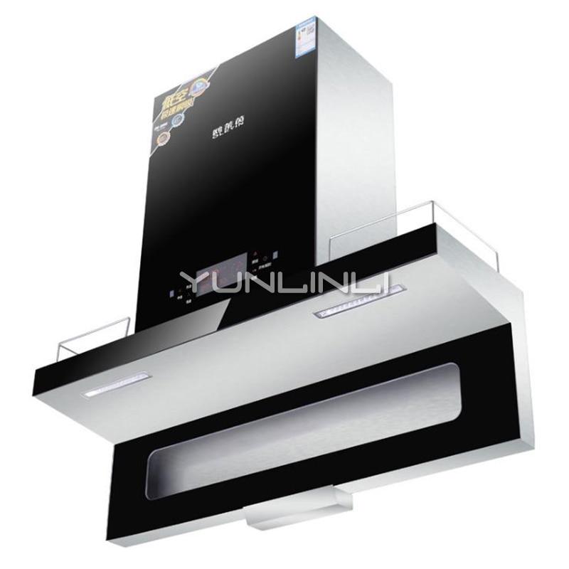 Intelligent Kitchen Range Hoods Household Oil Smoke Exhauster Range Hood Motion Sensing Control Kitchen Ventilator CXW-218