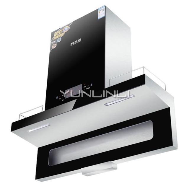Kitchen Ventilator Large Sink Intelligent Range Hood Motion Sensing Control Household Oil Smoke Exhauster Cxw 218