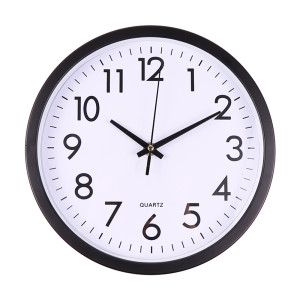 Silent Sweep Modern Graceful Desk Simple Digital Clock Watch Wall Clocks Horloge Home Decoration Easy to install No tools Needed(China)