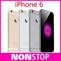 "Iphone 6 abierto original del teléfono móvil 16 gb/64 gb 4.7 ""IOS 8 de Doble Núcleo de 8MP IPS 1080 P WIFI 4G LTE Teléfono Celular Utilizado"