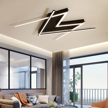 NEO Gleam Hot Modern led Chandelier for living Study room bedroom Master Room Aluminum In Black+White Finish Chandelier Fixtures недорого