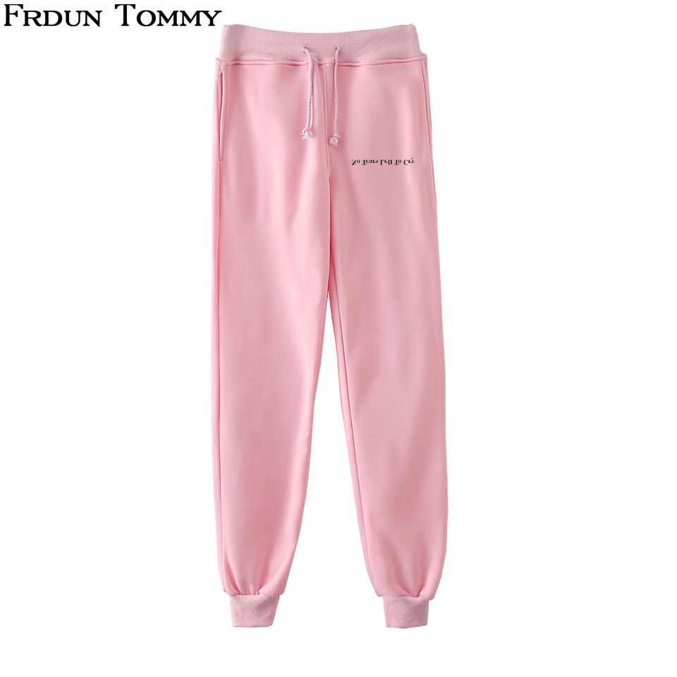 Frdun Tommy No Tears Left To Cry Trousers High Quality 2018 New Style Casual Fashion Cool Unisex Long Pants Autumn Spring Pants Crease-Resistance