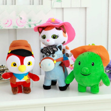 1pcs/lot,20cm/21cm/25cm Movie Sheriff Callies Wild West Cowboy Callie Cat/Horse/Woodpecker/Cactus Tree Brand Plush Doll Toys