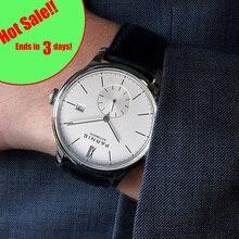 Parnis деловые часы Diver минималистский для мужчин наручные Роскошные водостойкие автоматические hombre Relogio Masculino 2019