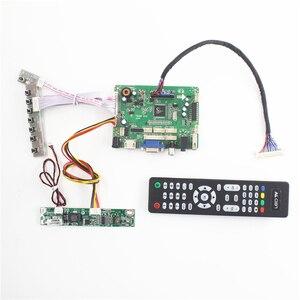 Плата ЖК-контроллера с USB, HDMI, VGA, аудио, AV, для панели LVDS 5 В, 18,5 дюймов, 1366X768, m185xtn1.3, CLAA185WA04, V4, для ремонта, для автомобилей и других, для автомоби...