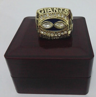 1990 Super Bowl New York Giants Benutzerdefinierte Sport Fans World Championship Ring Mit Holzkisten