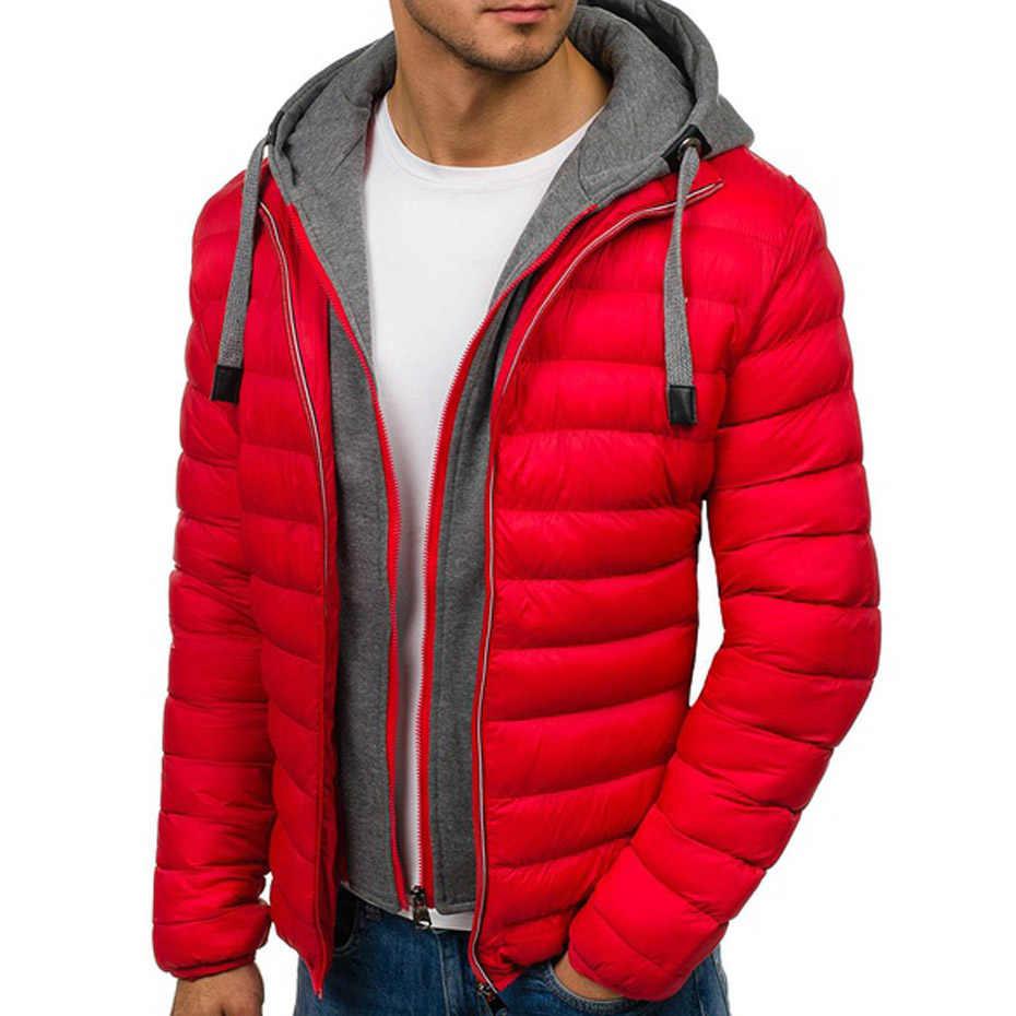 ZOGAA hombre chaqueta de invierno abrigos casuales gruesos hombres abrigos con capucha abrigo de invierno abrigo de hombre ropa de invierno Parkas de invierno