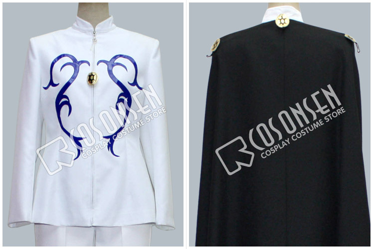 COSPLAYONSEN Sailor Moon Prince Demande Cosplay Costume With Cloak Full Set