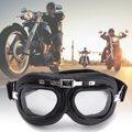 Motociclista Flying Cromo Gafas Gafas Para Harley Protector A Prueba de Viento Anti-Ultravioleta ABS Casco lente de la PC