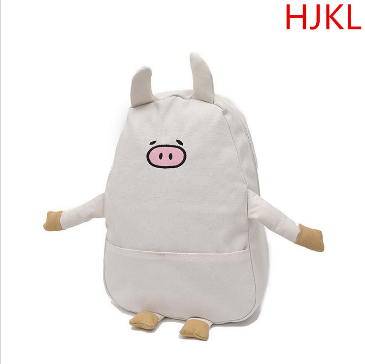 Han edition of cartoon design new backpack bag leisure travel bag high school students p ...