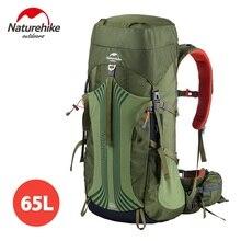 * Naturehike Высокое качество Открытый Альпинизм Восхождение Рюкзак Большой Ёмкость 65 + 5L Восхождение сумка Водонепроницаемый Пеший Туризм Рюкзаки