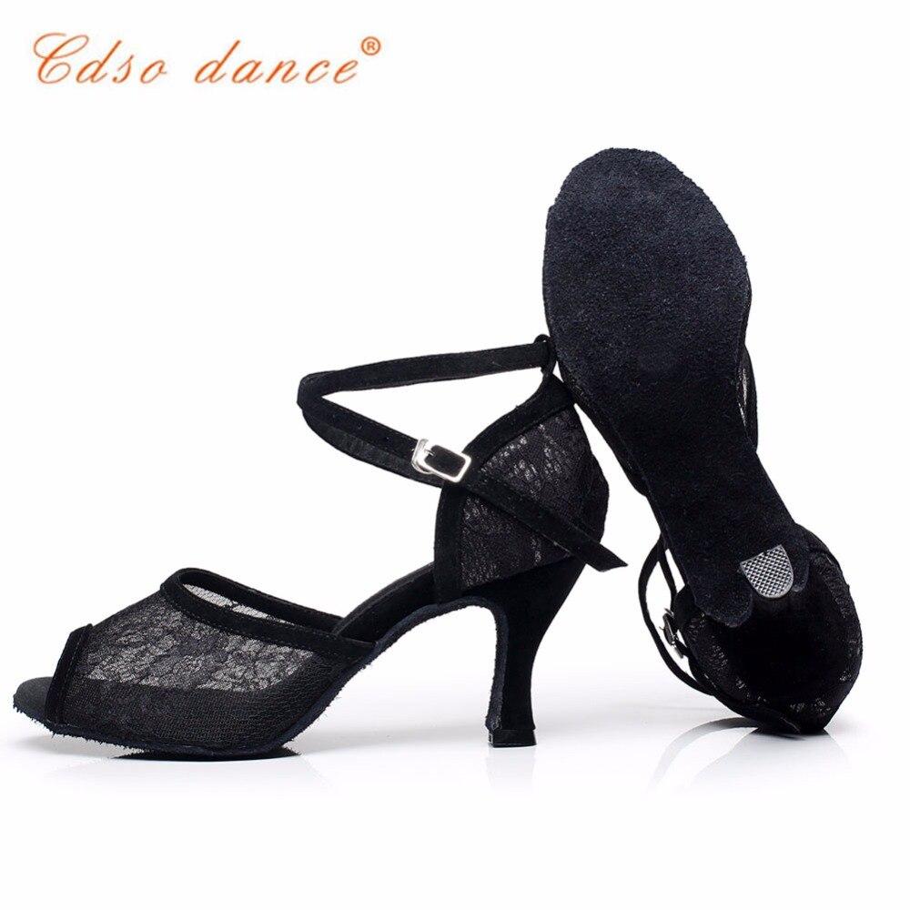 Cdso dance brand shoes 10316 cut outs black dance shoes latin momen salsa dance shoes ballroom