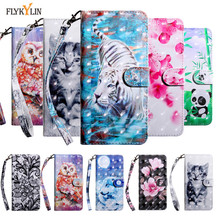 Leather Cases sFor Fundas Samsung Galaxy A50 Case Cover For