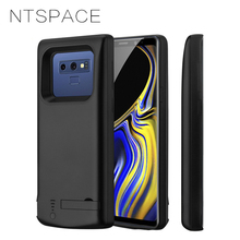 NTSPACE 5000mAh External Battery Power Charging Cases For Samsung Galaxy Note 9 Case Portable Backup Bank Cover