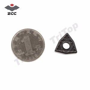 Image 2 - WNMG080408 PM YBC252 karbür cnc dönüm ekleme WNMG TIPI WNMG080408 ZCC. CT DÖNÜM ARACı WNMG432 yarı finiş çelik