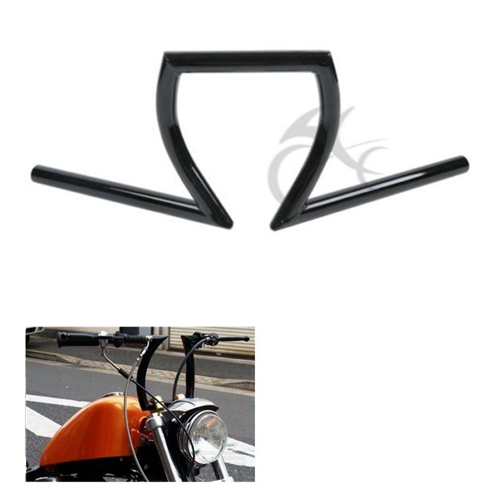 Motorcycle 1 Z Bar Handlebar For Harley Dyna Sportster Softail Custom Honda Rebel 250 Shadow Aero 750 Sabre 1100 VLX 600