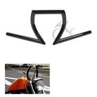 Motorcycle 1 Z Bar Handlebar For Harley Dyna Sportster Softail Custom Honda Rebel 250 Shadow Aero 750 Sabre 1100 VLX 600