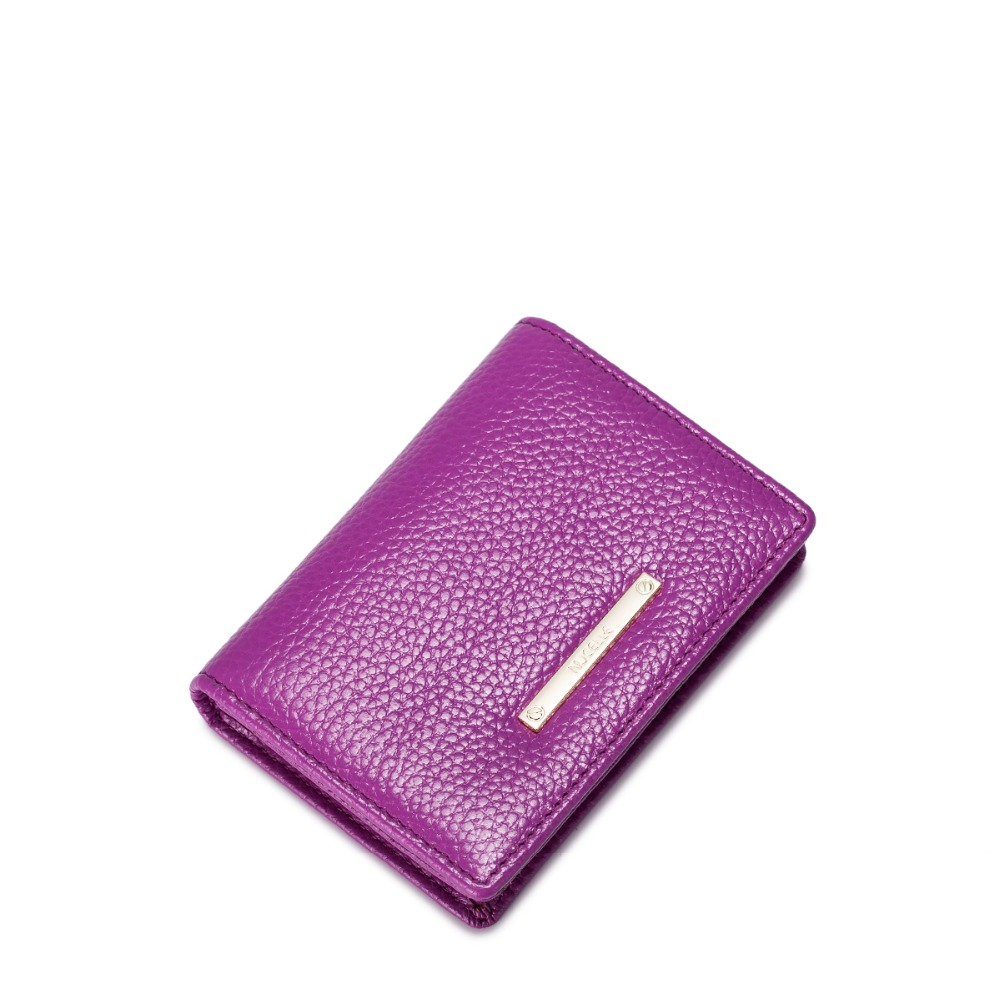 ФОТО 2016 New Women's Genuine Cowhide Leather Card Holder Change Pouch Girls Coin Pocket Small Purse