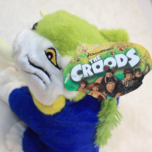 Image 5 - New Arrival 11 Inch Plush Animals The Croods Soft Plush Tiger Baby Toys best  X mas Christmas Gift   MACAWNIVORE