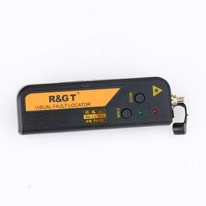 Image 2 - Kelushi 10mw ftth mini tipo localizador visual da falha da fibra óptica ferramenta de teste do verificador da fonte de luz vermelha com conector de 2.5mm (sc/fc/st)