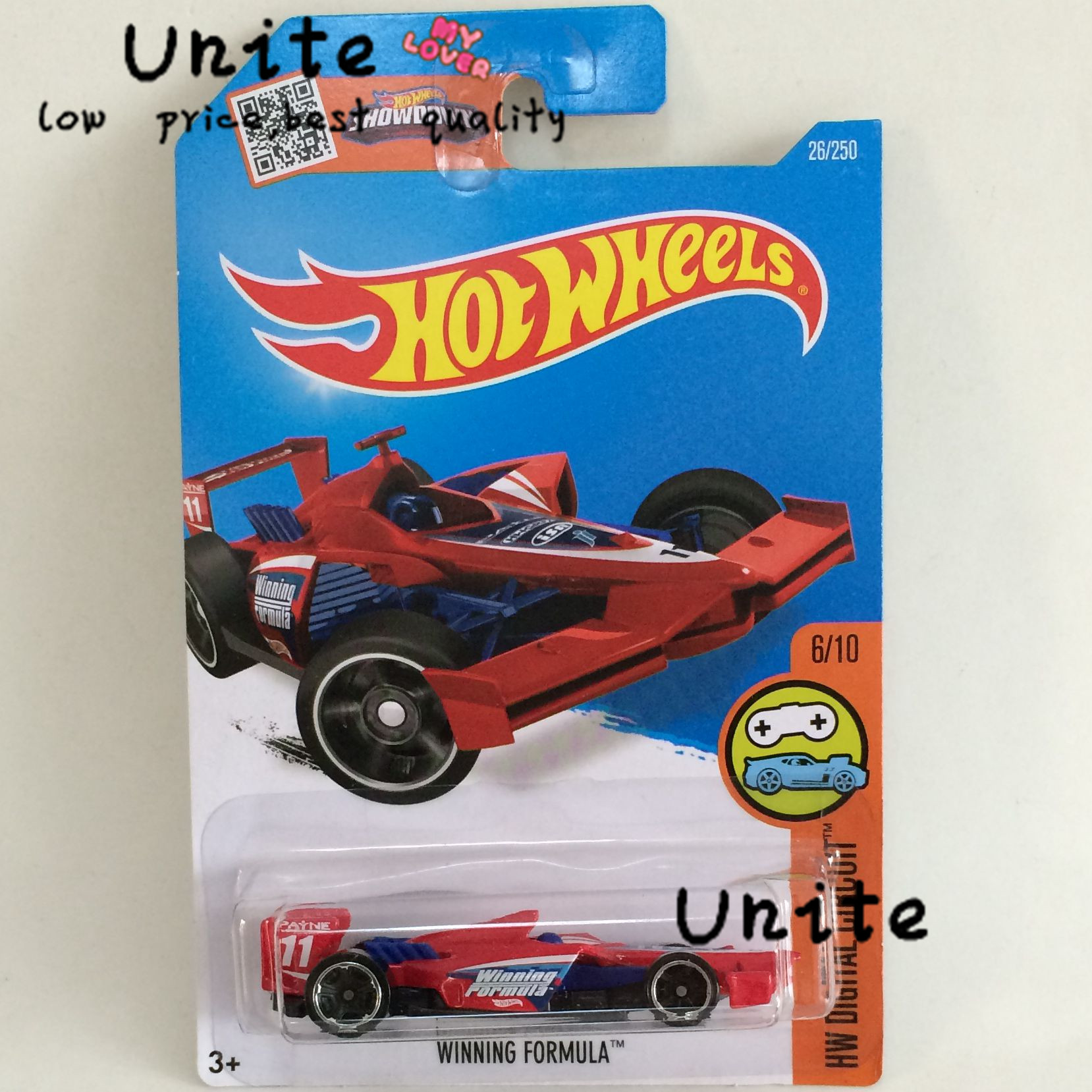 free shipping winning formula alloy cars models for kids gift wholesale metal mini cars for collecter hot 1144 in diecasts toy vehicles from toys
