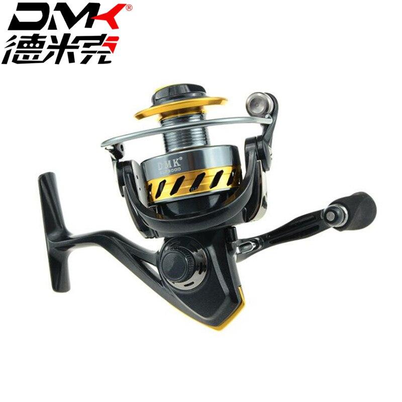 Dmk spinning fishing reel 2000 5000 size 9 1bb 5 2 1 gear for Fishing reel sizes