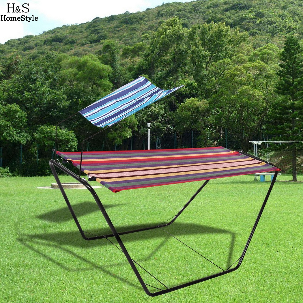 swing walmart warner patio heights com ip converting hammock mainstays outdoor red seats