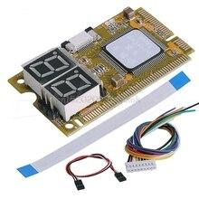 5 in1 Mini PCI pci-e LPC I2C ELPC Debug карты диагностический анализатор тестер комплект # H029 #