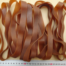 Rubber-Band Brown Elastic Heavy-Duty Industrial Strong Wide-20mm You-Choose-Quantity