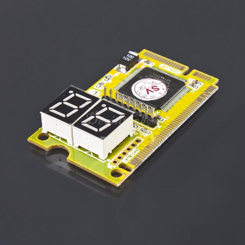New Arrival Mini Card Test 3 in 1 PCI-E LPC PC Analyzer Tester POST For Notebook Laptop