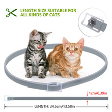 Hot Cat Collar Tick Flea Anti Insect Mosquitoes Waterproof Adjustable 8 Months Protection LFD