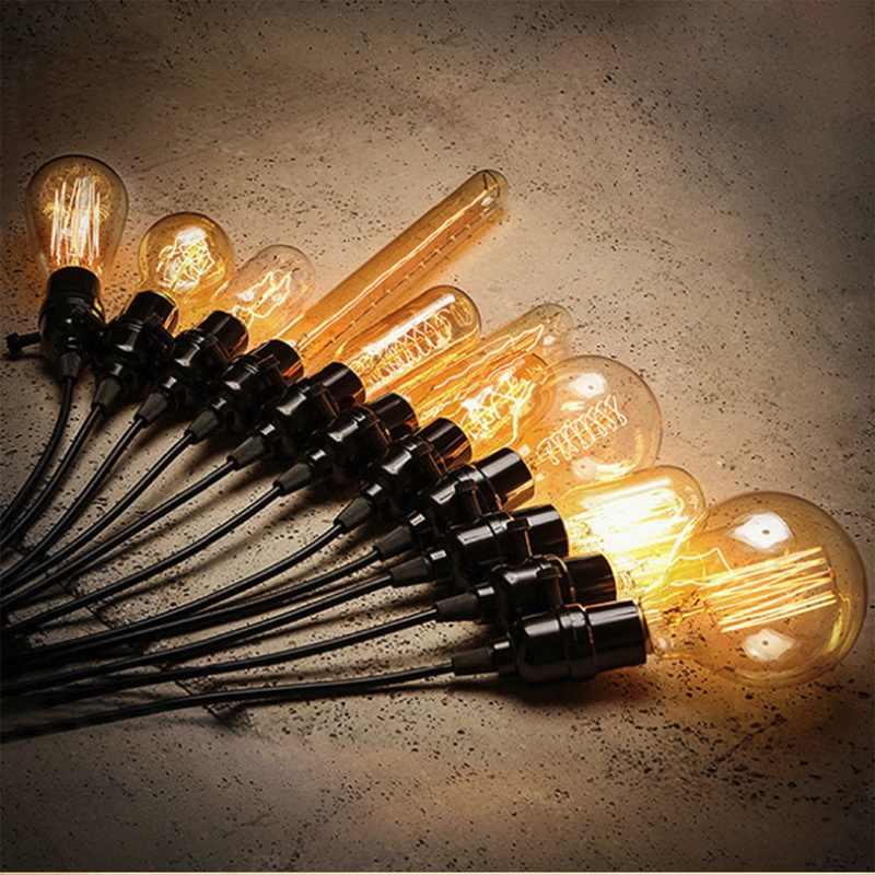 1 PC ampoule incandescente Vintage Edison E27 220 V rétro lampe 40 WAmpoule Vintage ampoule Edison lampe Filament Edison ampoule