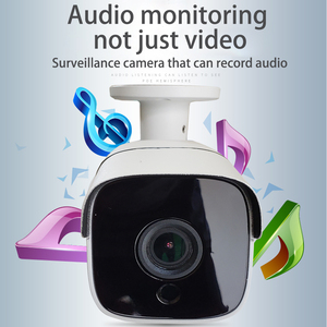 Image 2 - Built in audio H.265 IP Camera 1080P 3mp 5mp 2.8mm 3.6 mm ONVIF P2P 48v poe network ipcam metal XMEye Surveillance xmeye CCTV